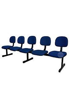 Cadeira Longarina com 5 Lugares Secretária