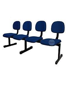 Cadeira Longarina com 4 Lugares Secretária