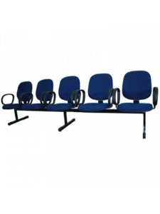 Cadeira Longarina com 5 Lugares Executiva