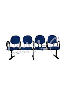 Cadeira Longarina com 4 Lugares Executiva
