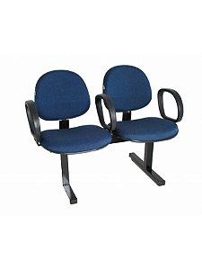 Cadeira Longarina com 2 Lugares Executiva