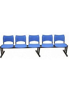 Cadeira Longarina com 5 Lugares Iso