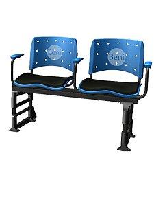 Cadeira Longarina com 2 Lugares Ergoplax
