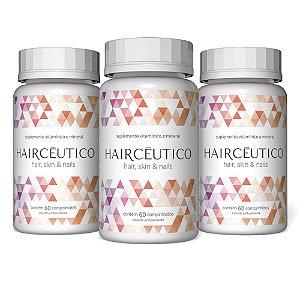 Haircêutico Hair, Skin & Nails - 3 unidades (cuidado para 6 meses)