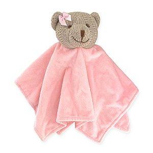 Naninha Urso de Tricô Rosa