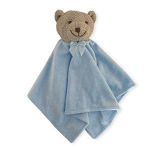 Naninha Urso de Tricô Azul