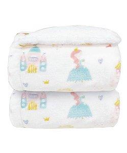 Cobertor para Berço Estampa Princesa