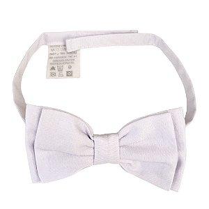 Gravata Borboleta Infantil Branca