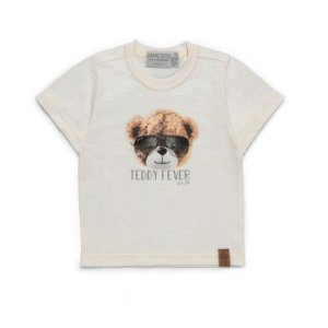 Camiseta Manga Curta Infantil Masculina - Teddy Ray-Ban  - Tam P a 6