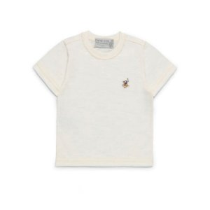 Camiseta Lisa Branca com Bordado Dame Dos - Tam P ao 2