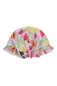 Chapéu para Bebê com UV - Estampa Frutas