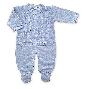 Macacão Saída de Maternidade Tóquio Azul Claro