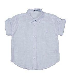 Camisa Infantil - Manga Curta - Cambraia