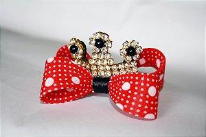 Laço Coroa Minnie