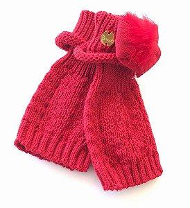 Polaina Bebê Vermelha