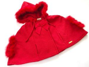 Capa Infantil Vermelha