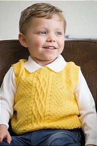 Colete Bebê Amarelo