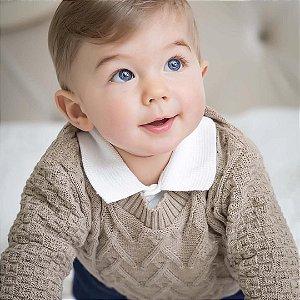 Malha Bebê Tramas Camurça