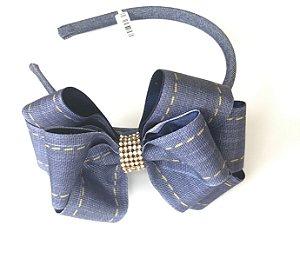 Tiara Jeans com Strass