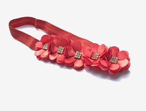 Fita com Flores Isabella - Diversas Cores