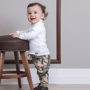 Blusa Polo Infantil Branca - Tam M a 8