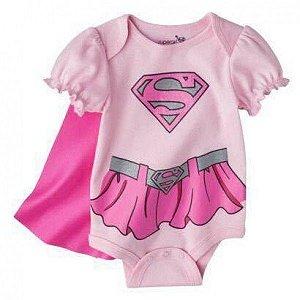 Body Super Girl - Tamanho P a 1