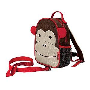 Mochila com Cinto Skip Hop Zoo Macaco