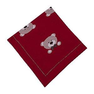 Manta Ursos Vermelha