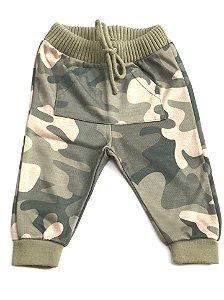 Calça Camuflada Infantil - Tamanho G ao 3