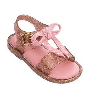 Mini Melissa Mar Sandal - Ouro Glitter
