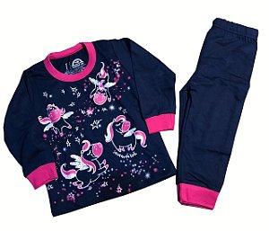 Pijama Infantil Feminino - Pegasus - Brilha no Escuro