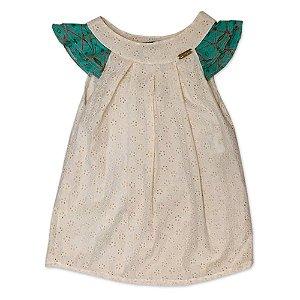 Vestido de Laise -Tam 8 anos