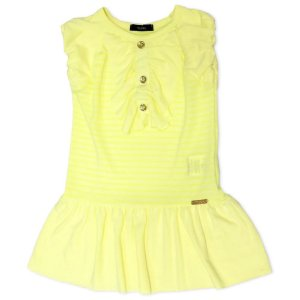 Vestido Fluorescente - Tam 2 ao 8