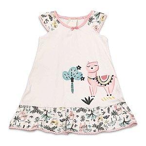 Camisola Infantil Lhama - Tamanho 1  a 6