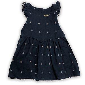 Vestido para Bebê Olivia Marinho - Tam 3 a 24 meses