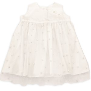 Vestido Pérolas Letícia - Tam 6 a 12 meses