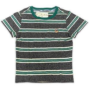 Camisa Infantil Listrada - Tamanhos P a 6