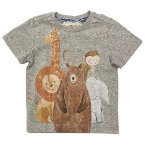 Camiseta Infantil Estampa Animais