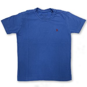Camiseta Infantil Azul Royal