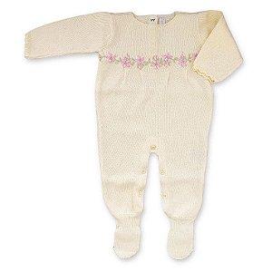 Macacão Saída de Maternidade com Pregas - Toronto Amarela