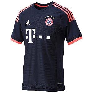 Camisa Adidas Bayern De Munique Oficial 3 2015 S/Número