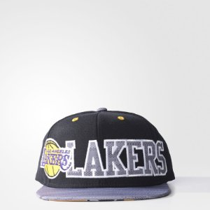 Boné Adidas Flat Los Angeles Lakers