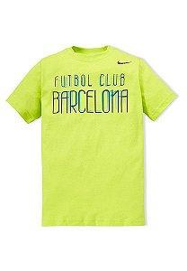 Camiseta Infantil FCB Fã