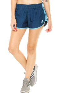 Short adidas Performance M10 Perf 3'' Azul