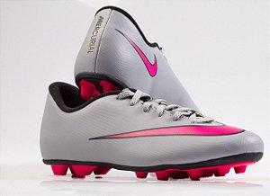 Chuteira Nike JR Mercurial Vortex II FG-R