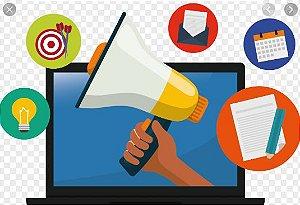 Criação e gerenciamento de site e mídias sociais (Pagamento mensal)