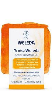 Arnica 20g Glóbulos - Weleda