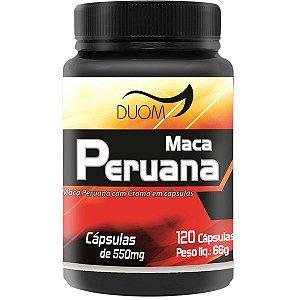 Maca Peruana 550mg 120 Cáps / Duom