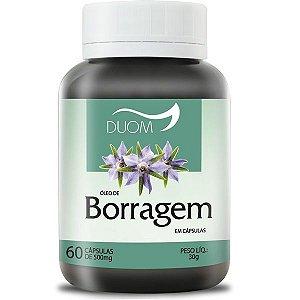 Oleo de Borragem 500mg 60caps / Duom