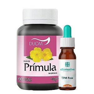 Kit Homeopático TPM Free 60mL + 60 Cápsulas de Óleo de Prímula 500mg